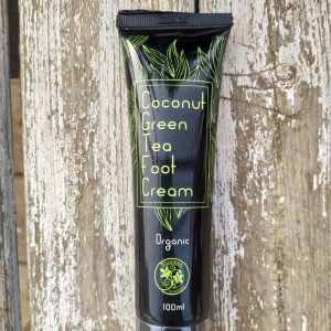 Green Tea and Coconut Organic Foot Cream